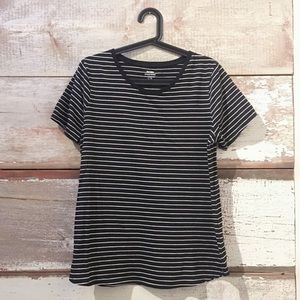 striped t-shirt // Old Navy